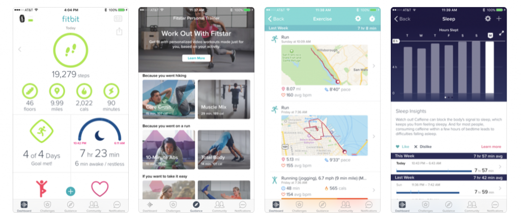 Fitbit on the AppStore