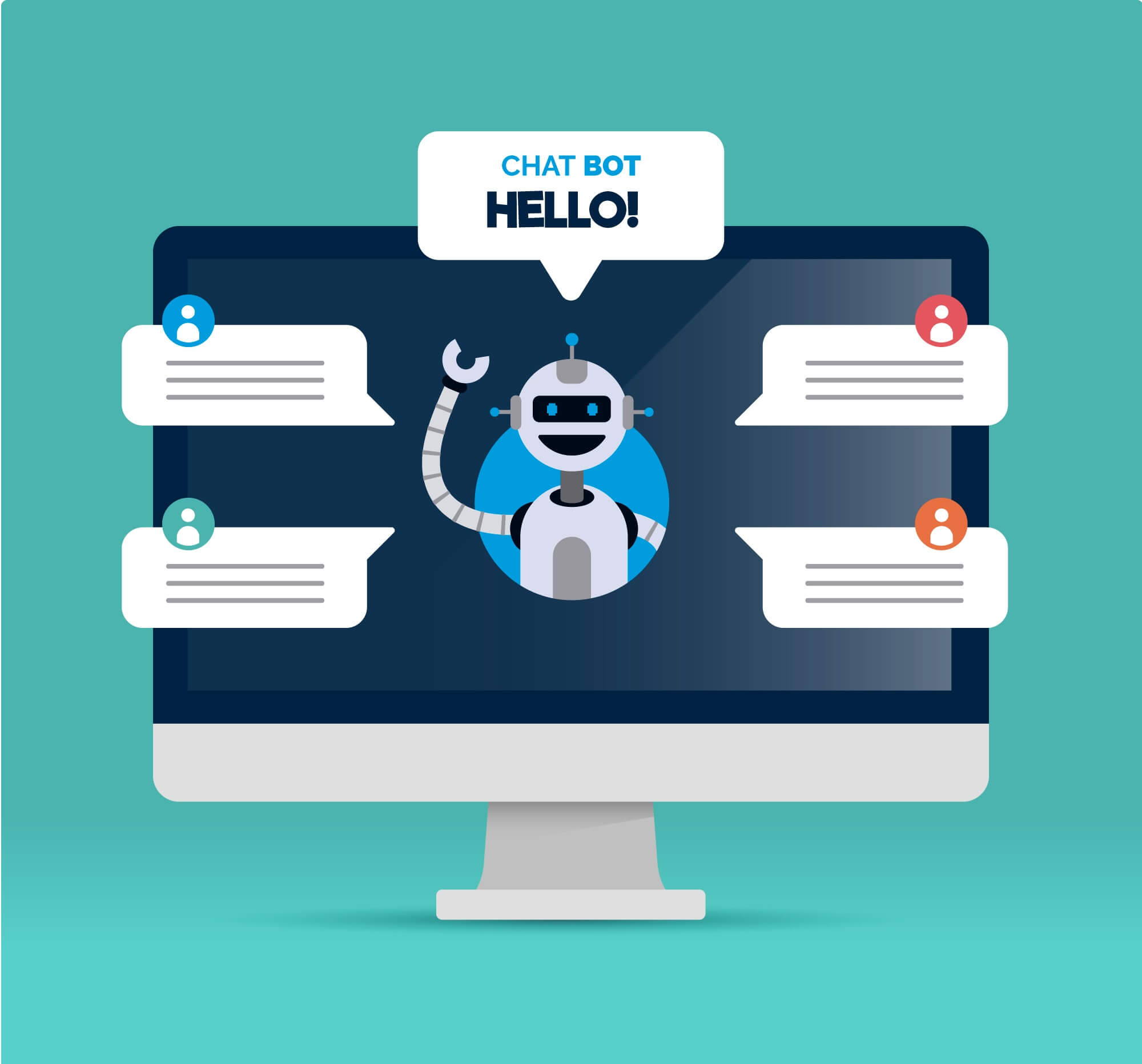 Automated Customer Service Chatbots