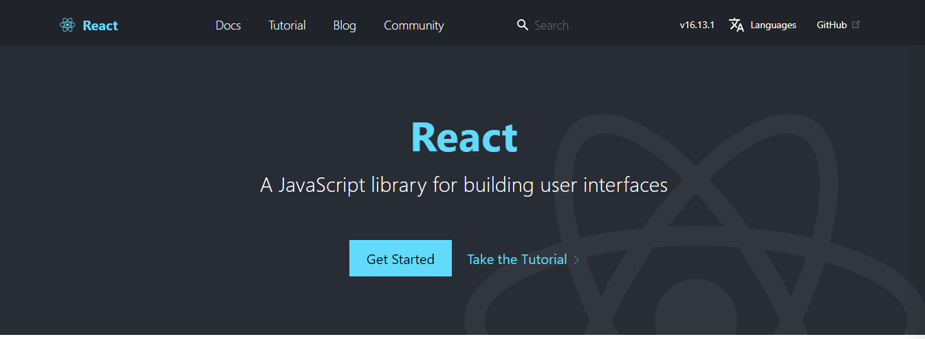 React Website