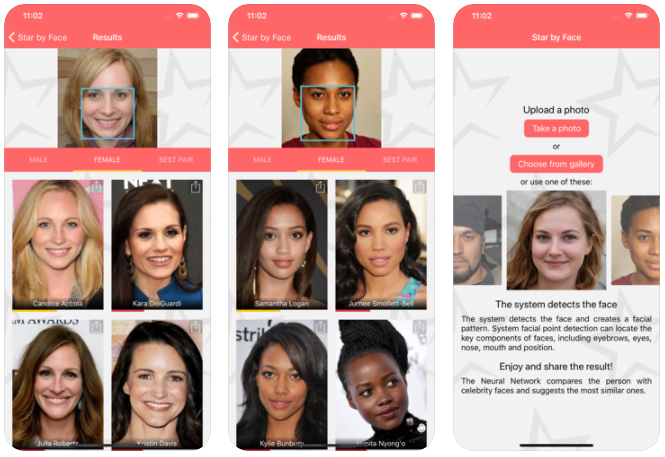 Star by Face - Celebrity Look Alike Apps